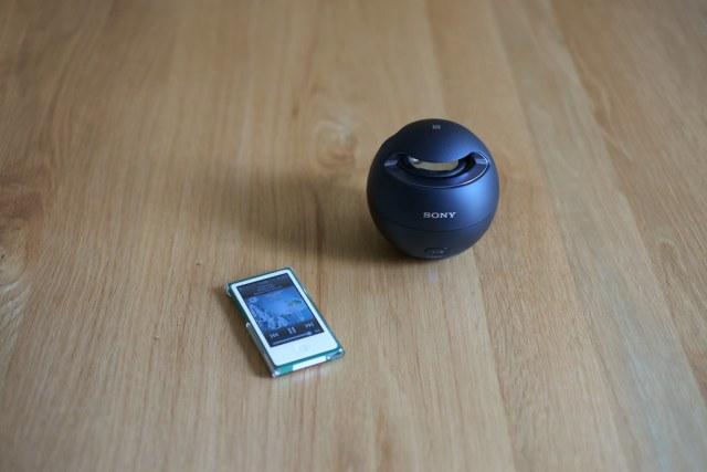SONY SRS-X1 & iPod Nano 2015/05/14 XE104294