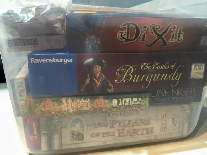 Dixit, Castles of Burgundy, and more