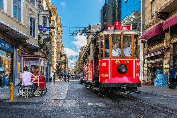 Ruta por Estambul
