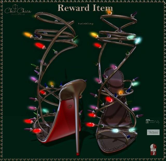 ChicChica for The Arcade, Reward Item