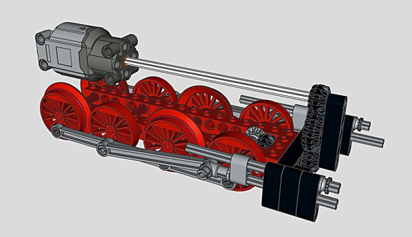 BR55 Drive train | The drive train of the BR 55 engine. In ...