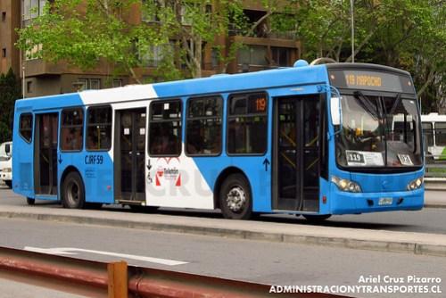Transantiago - Inversiones Alsacia - Caio Mondego L / Volvo (CJRF59)