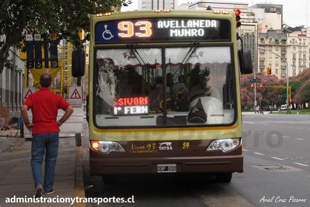 Buenos Aires 93 | Transportes 1 de Septiembre | Tatsa Puma D12 2010 / KNP089