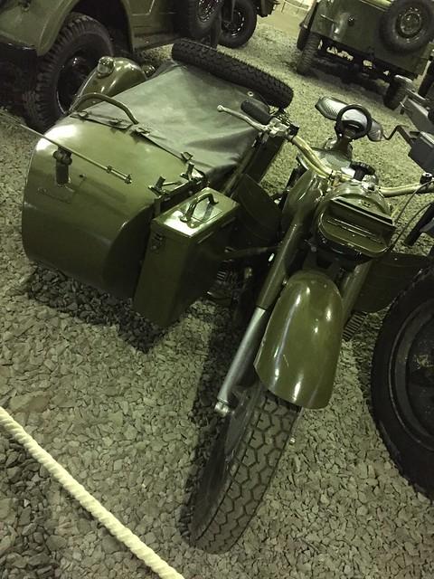Советский мотоцикл М-72
