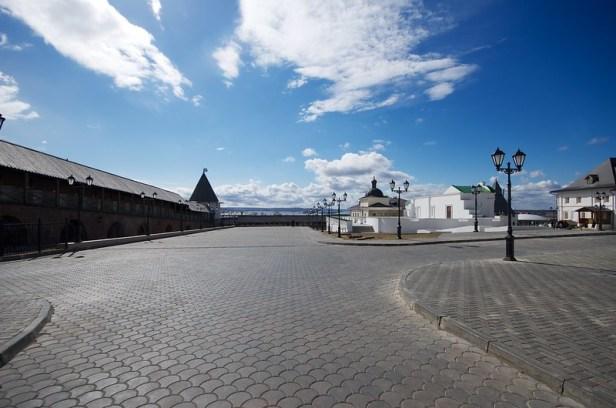 территория Казанского кремля, Казань
