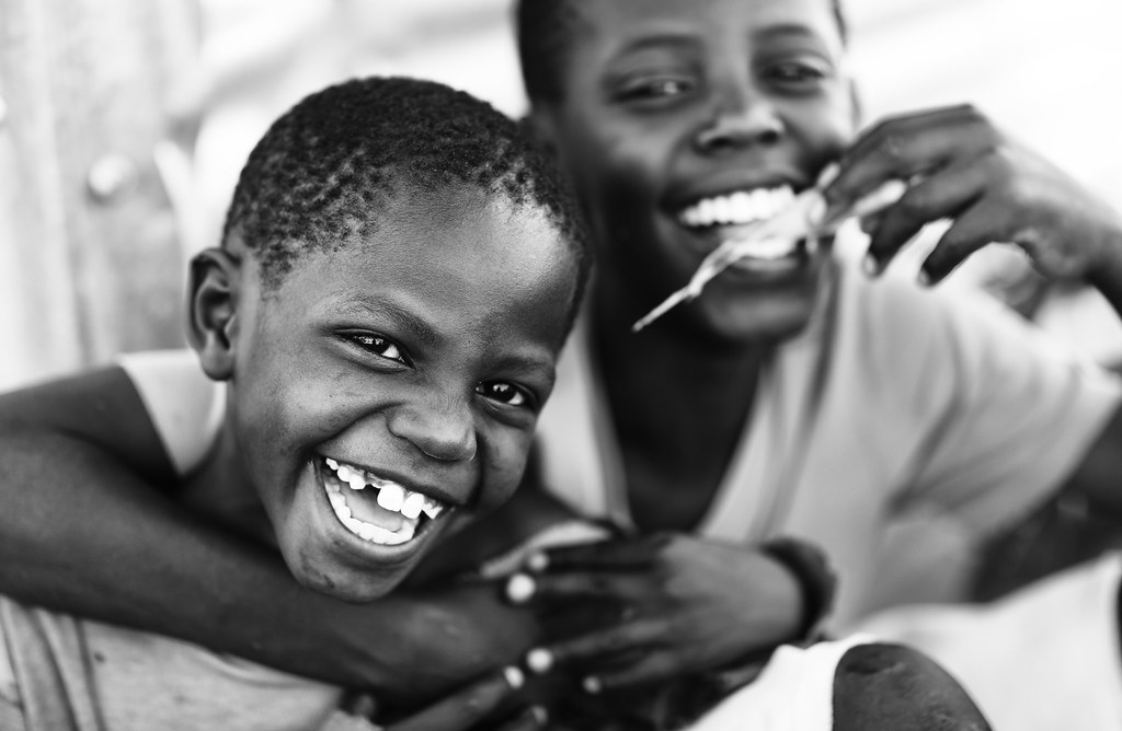 Kenya Happy Orphans On Mfangano Island Lake Victoria