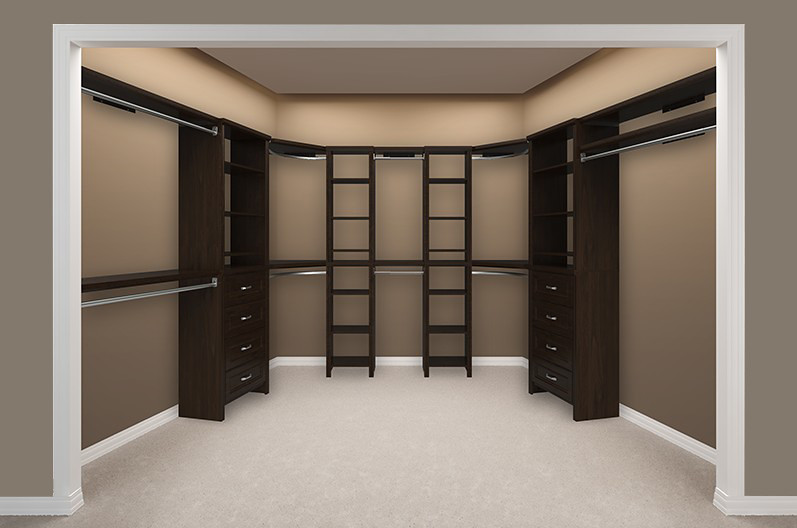 Impressions Walk In Chocolate Bedroom 3 Empty Create A