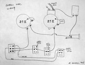 Gibson WRC Wiring Diagram | The WRC features a master