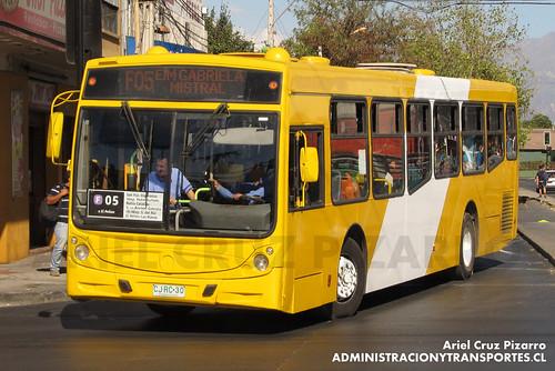 Transantiago - STP Santiago - Caio Mondego H / Mercedes Benz (CJRC30)
