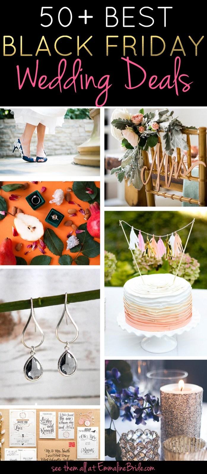 Black Friday Wedding Deals | http://emmalinebride.com/holiday/black-friday-wedding-deals/