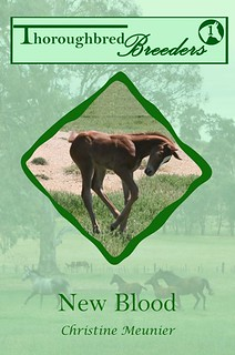New Blood, Thoroughbred Breeders #1 by Christine Meunier; a Clean Romance Series