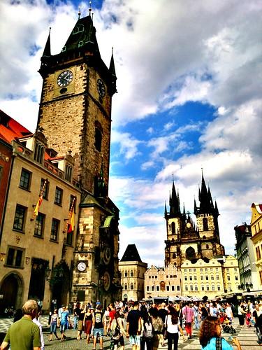 Patrimonio de la Humanidad en Europa y América del Norte. República Checa. Centro histórico de Praga.