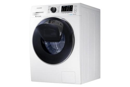 La línea Add Wash de Samsung, cuenta con una compuerta especial que nos deja meter ropa dentro de la lavadora en cualquier momento sin interrumpir el ciclo iniciado.