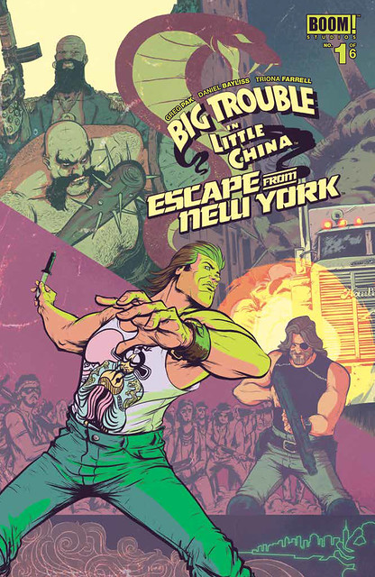 29969275481_4c2c79386d_z ComicList Preview: BIG TROUBLE IN LITTLE CHINA ESCAPE FROM NEW YORK #1
