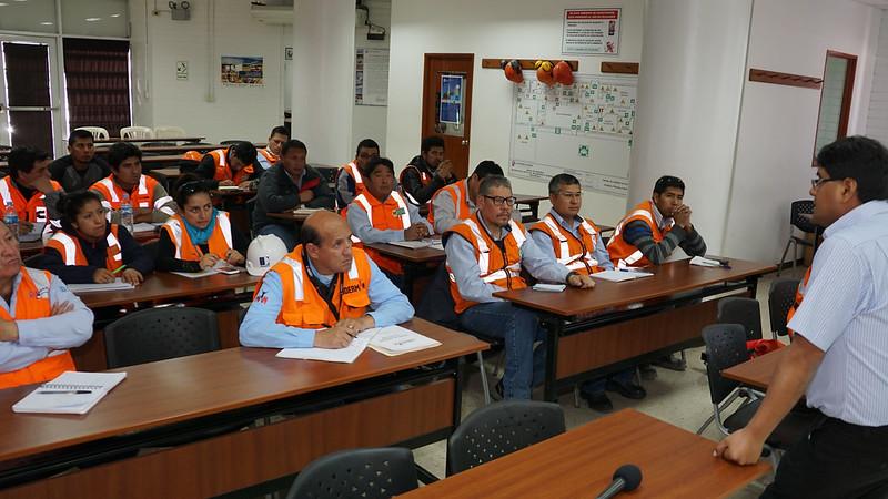 Curso sobre el nuevo reglamento de seguridad minera