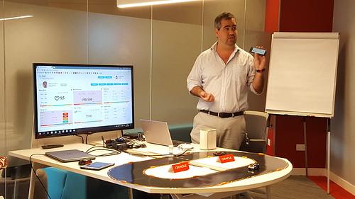 """""""Hemos identificado un creciente interés por parte de las empresas de iniciar procesos de transformación digital"""", señaló Mario Cuniberti, Director de Arquitectura para Oracle Argentina."""