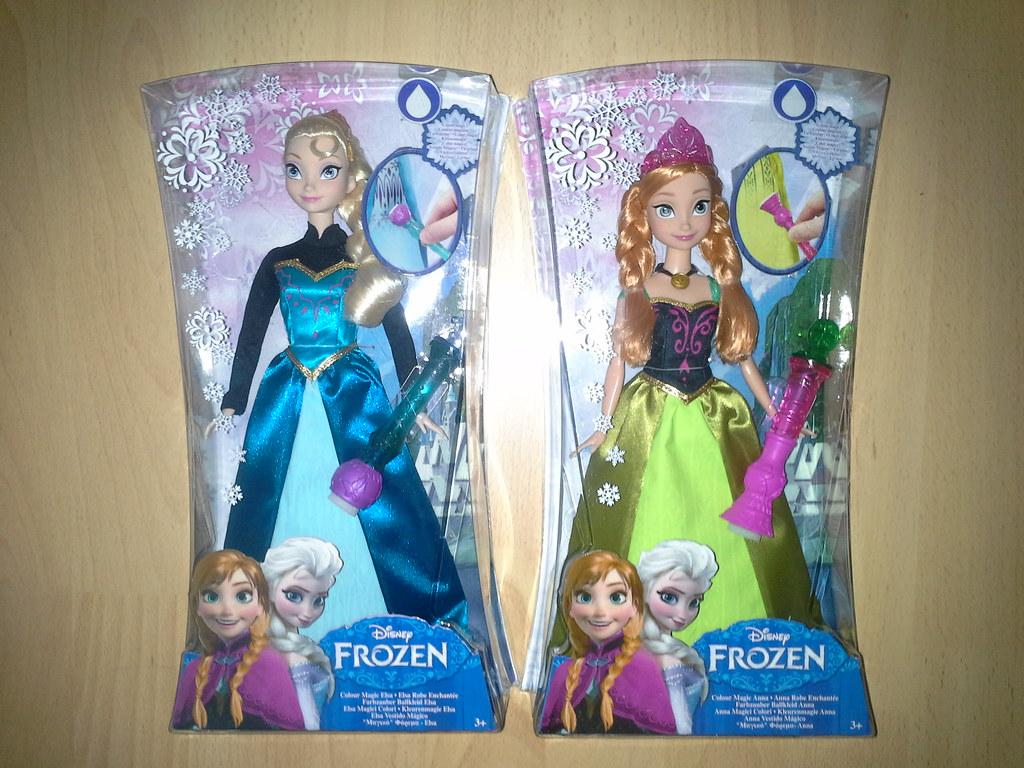 Mattel Disney Frozen Color Magic Elsa Amp Anna Today I