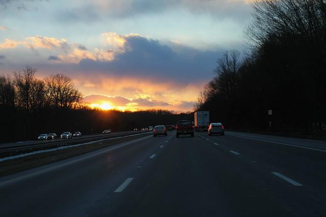 02.24.2014 :: sunset drive