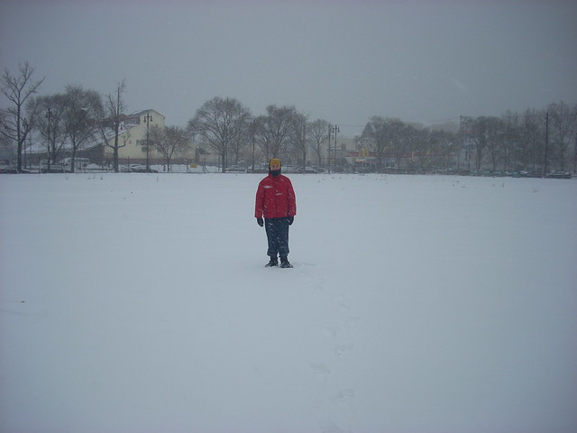 The Snowy Field that was the Wanamaker Shirt Factory