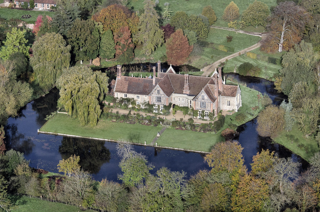 Elsing Hall Norfolk Moated Manor House Built In 1470