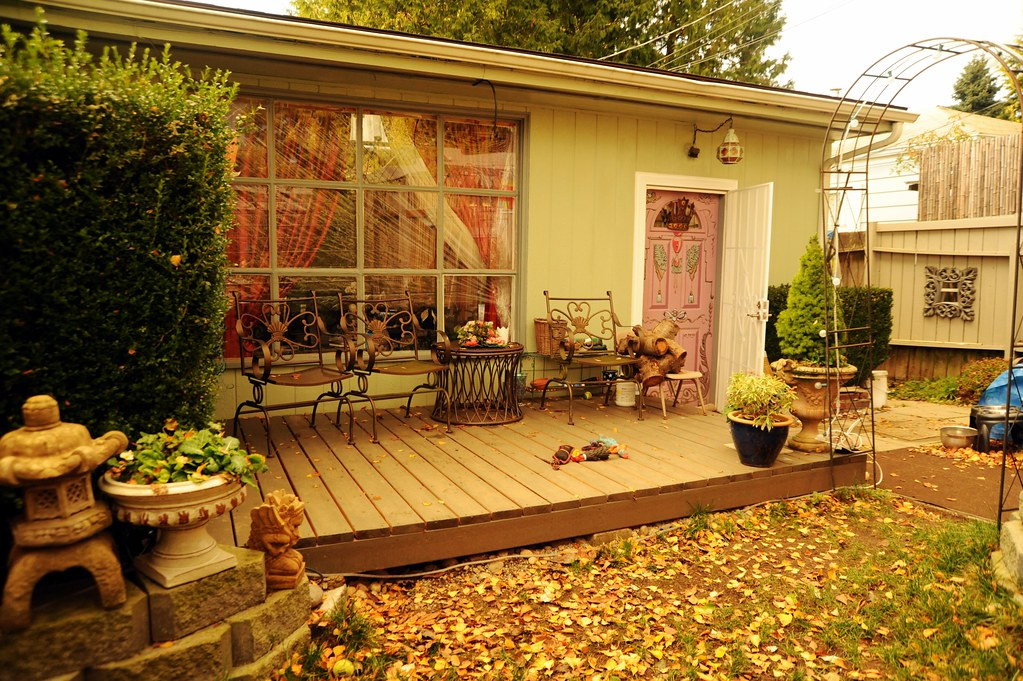 The New Front Deck In The Winter Patio Furniture Rosies