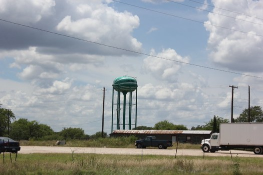 Luling, Texas Watermelon Water Tower
