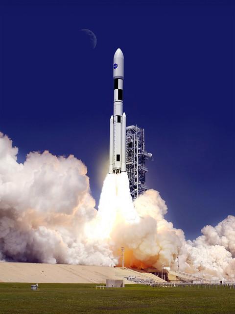Artist Concept: SLS 130-Metric-Ton Configuration (NASA ...
