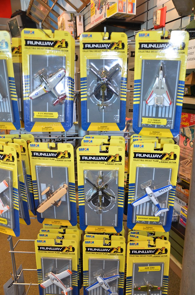Runway 24 Toy Planes For Sale At The Cradle Of Aviation