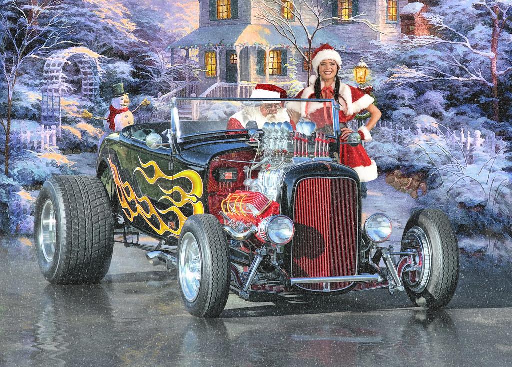 Santas Helper Even Old St Nick Needs A Hand Once