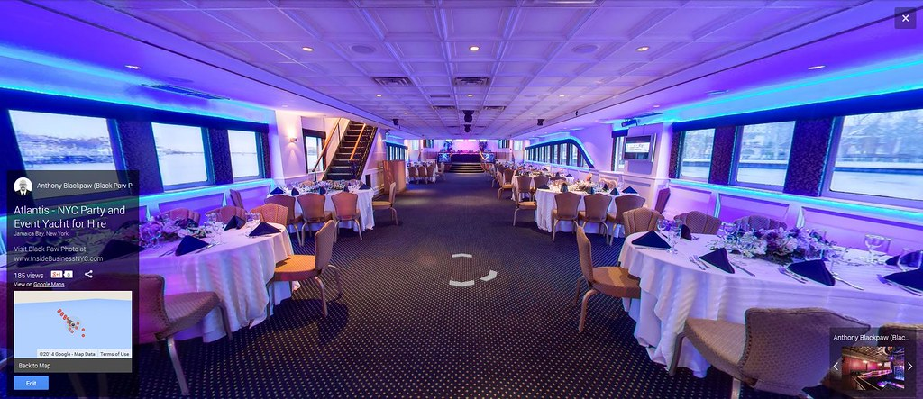 Google Street View Of Atlantis A NYC Private Cruise Yach