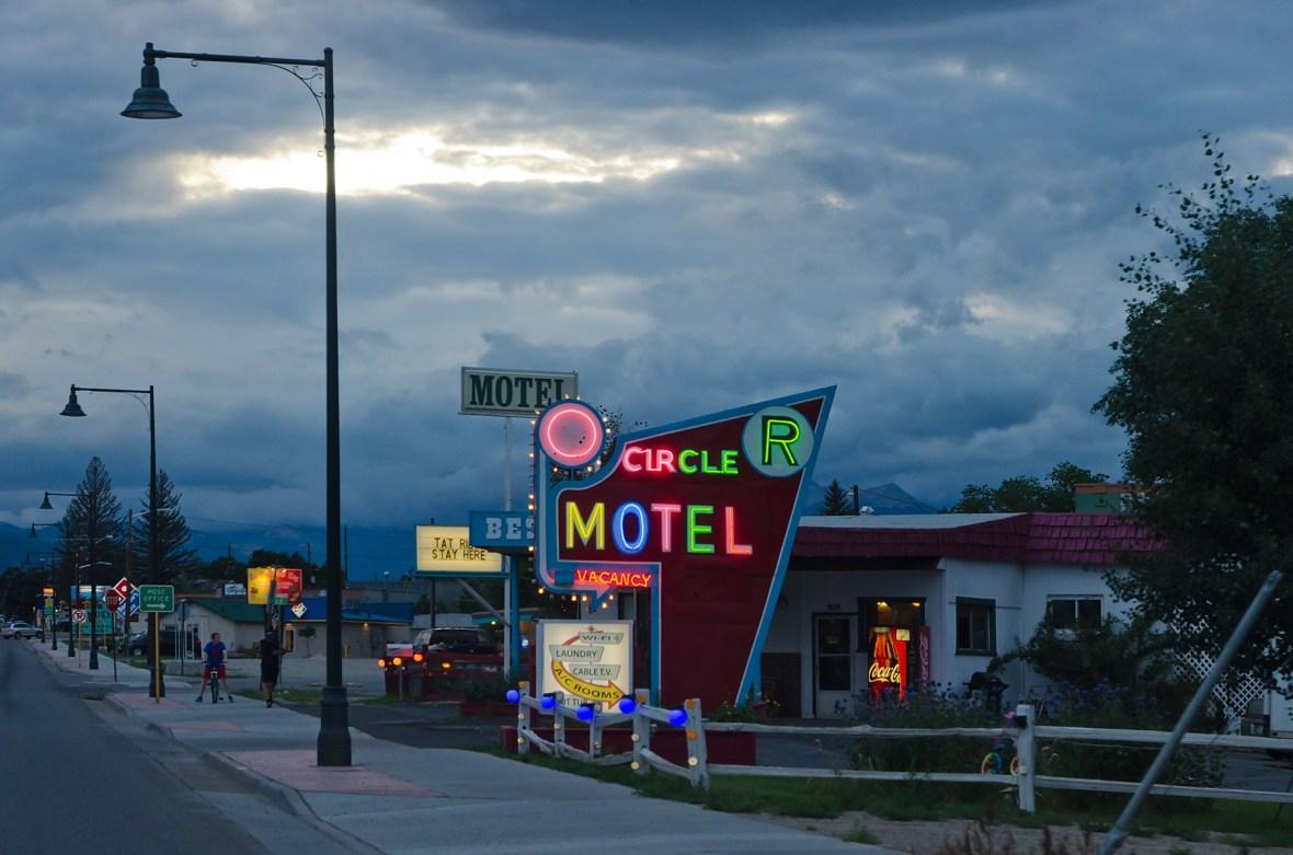 Circle R Motel - 304 U.S. 50, Salida, Colorado U.S.A. - August 1, 2013