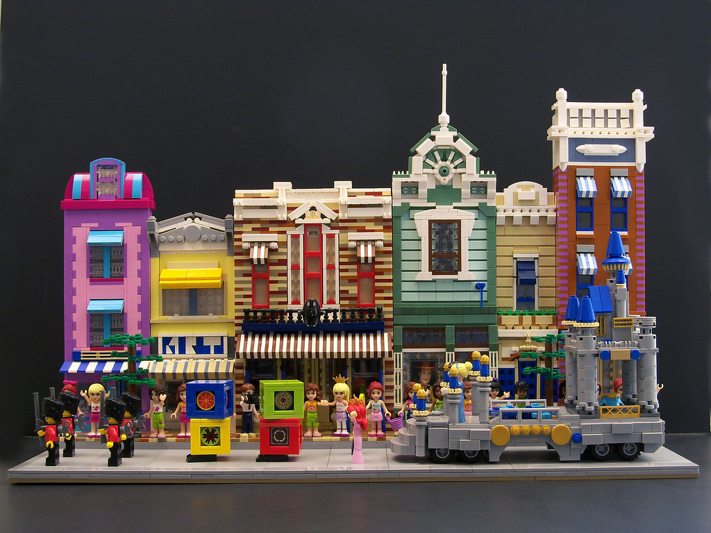 Disneyland Main Street USA By Far My Most Colorful Moc