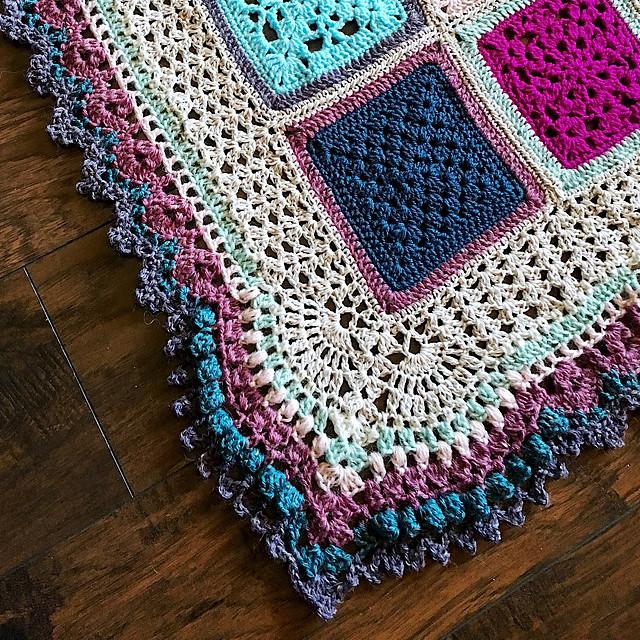 Vibrant Vintage Blanket Border
