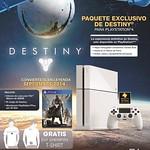 sony PS4 vive en estado PLAY con DESTIINY edition
