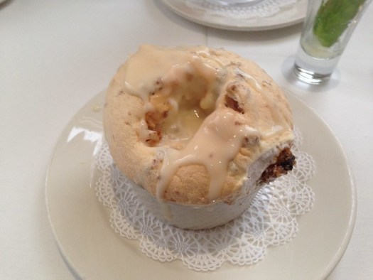 Creole Bread Pudding Souffle, Commander's Palace, New Orleans LA