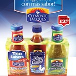 trio del sabor CLEMENTE JACQUES limited promotions time - 04qgo14