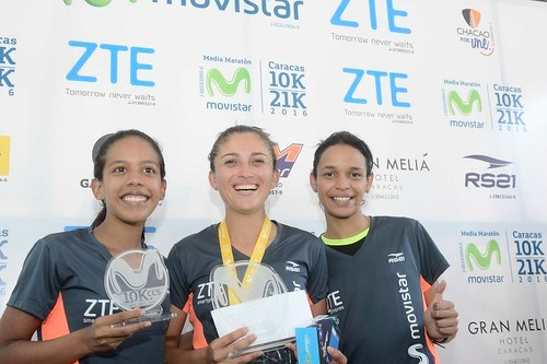 La atleta olímpica Milángela Rosales fue la ganadora de los 10K con un crono de 40:05.60.