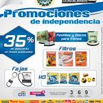 Promociones de independencia para tu auto - 08sep14