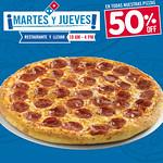 Descuentos Dominos Pizza MARTE SY JUEVES