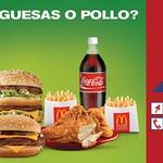 Promociones McDonalds EXPRESS hamburguesas o pollo
