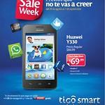 ofertas HUWAEI Y330 sale week TIGO - 02sep14