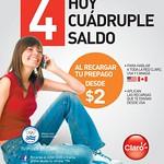 Aplican recargas desde USA y CANADA gracias a CLARO - 22jul14