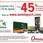 Descuento 45 OFF en omnisport tarjetas Banco Promerica - 14ago14