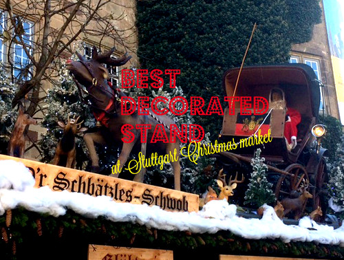 pic best decorated stand at stuttgart christmas market