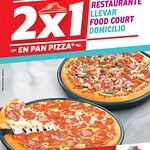 AHORA jueves pizza hut 2x1 - 28ago14