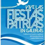 Vive las fiestas patrias en GALERIAS escalon - 12sep14
