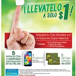 Selectos MOVIL tu chip movistar por 1 dollar - 12sep14