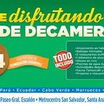 FOLLOW decameron colombia peru ecuador cabo verde marruecos senegal