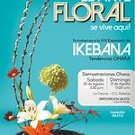 Vive la moda en GALERIAS eveno el arte FLORAL - 29ago14