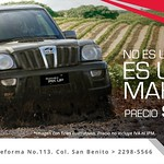 MAHINDRA pick up rise INDIAN technology - 25ago14